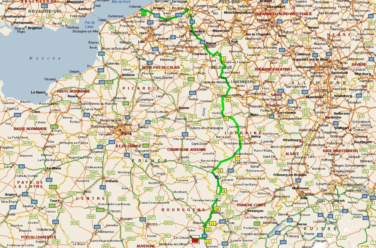 frontiere luxembourg belgique